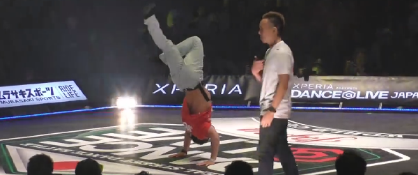 TAISUKE vs ISSEI FINAL BREAK DANCE@LIVE JP FINAL 2014