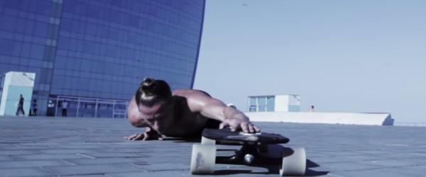 BREAKLETICS   Longboard meets fitness