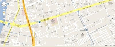 ミャンマー大使館地図2