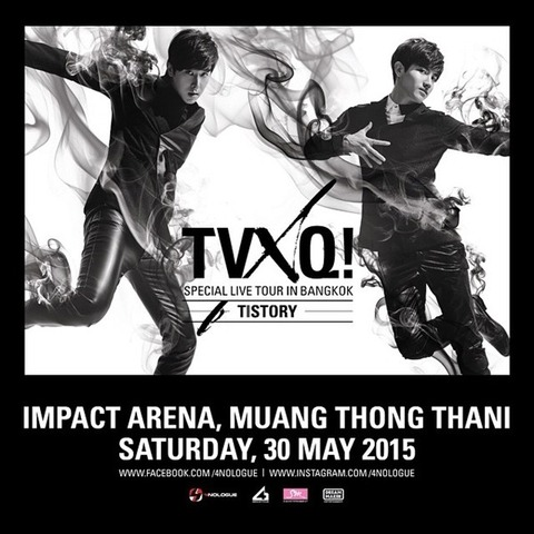 TVXQ! SPECIAL LIVE TOUR – T1ST0RY – IN BANGKOK