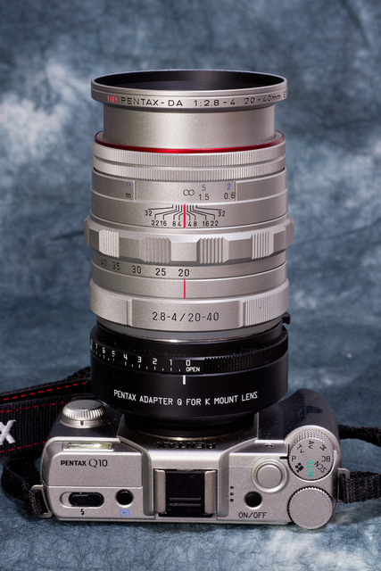 Pentax 20-40mm Limited 12