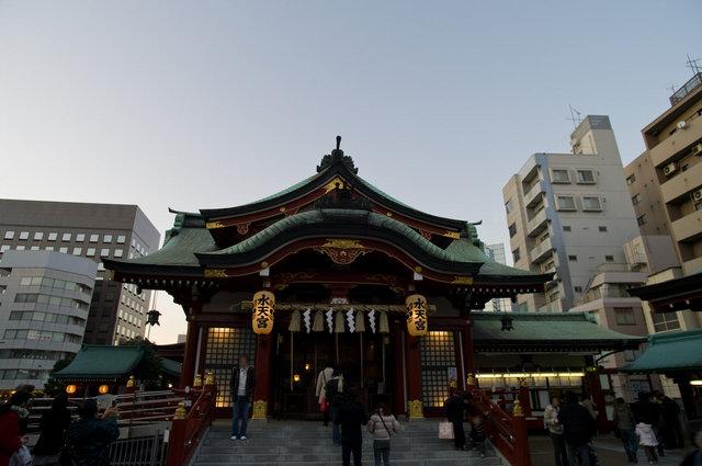 水天宮社殿