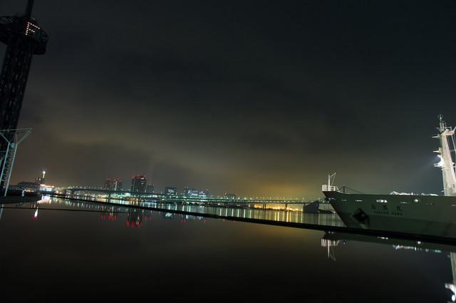 豊洲&晴海埠頭夜景08