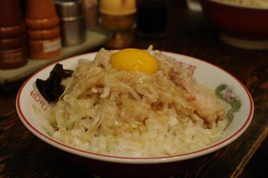 ぽっぽっ屋@湯島 油そば(野菜増し)