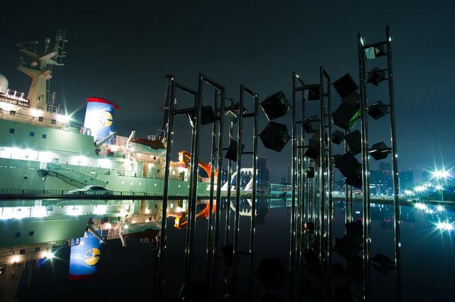 豊洲&晴海埠頭夜景07