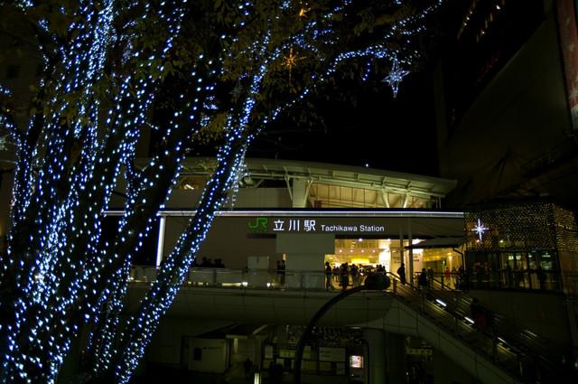 立川駅南口イルミ04