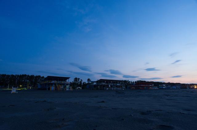夜明けの静波海岸3