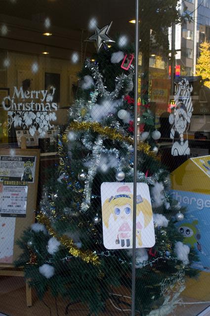 Antec内クリスマスツリー