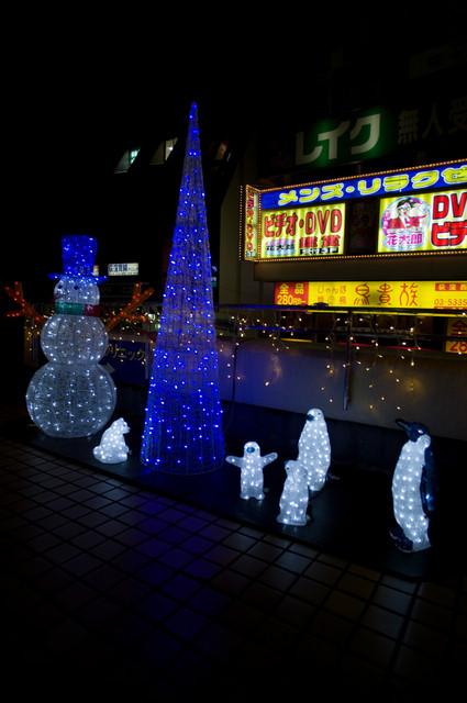 荻窪駅前イルミ01