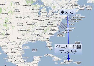 ドミニカ地図