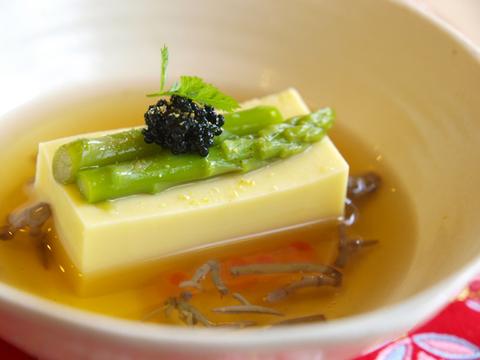 玉蜀黍の豆腐