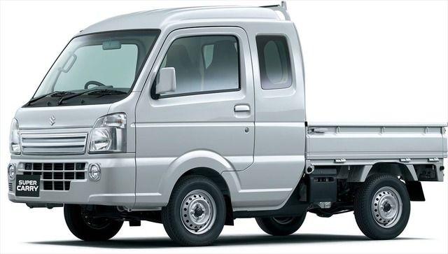 スズキ、ロングキャビンの新型軽トラ「スーパーキャリイ」を発売 安全装備も充実