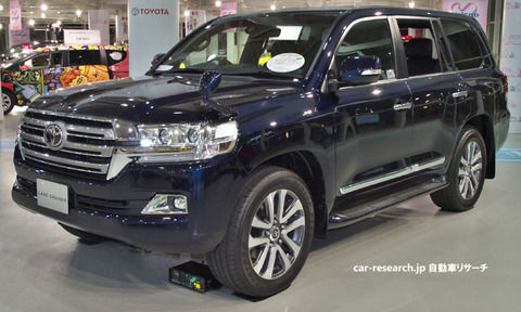 トヨタ ランドクルーザー200系にフルモデルチェンジ計画、新型300系へ