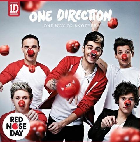 One Direction チャリティー シングル