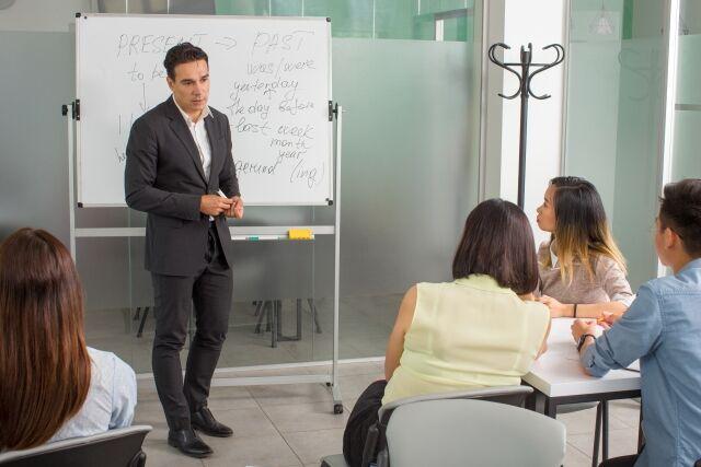 高校でのビジネス英語授業