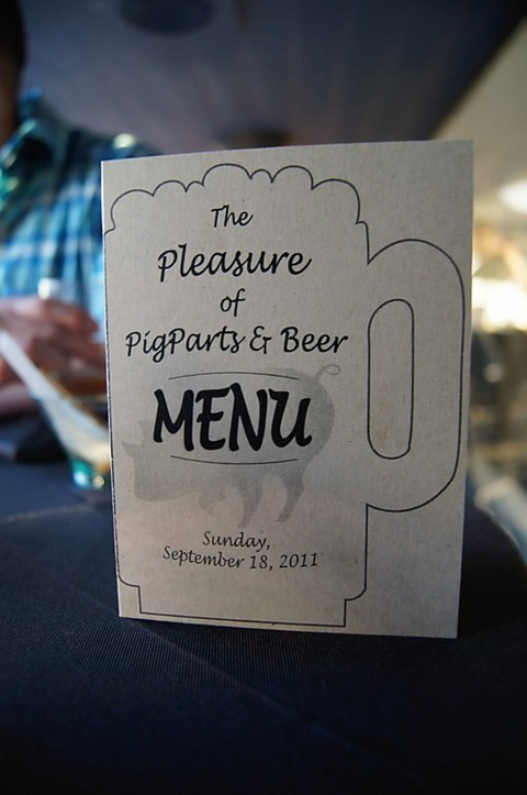 menu card cover