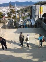 こんな階段を600段超