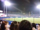 東京音頭が鳴り響く神宮球場