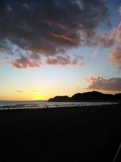 江の島夕焼け3