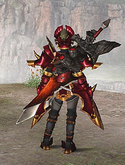 鎧竜乃紅破刀1