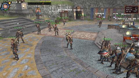 PS3版 広場の様子