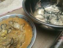 食中毒的牡蠣鍋