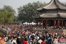 北京世界遺産頤和園大混雑