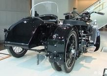 Brough Superior Austin 3-wheeler with sidecar
