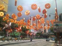 中華街的新年飾