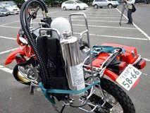 とちぎ的消防バイク