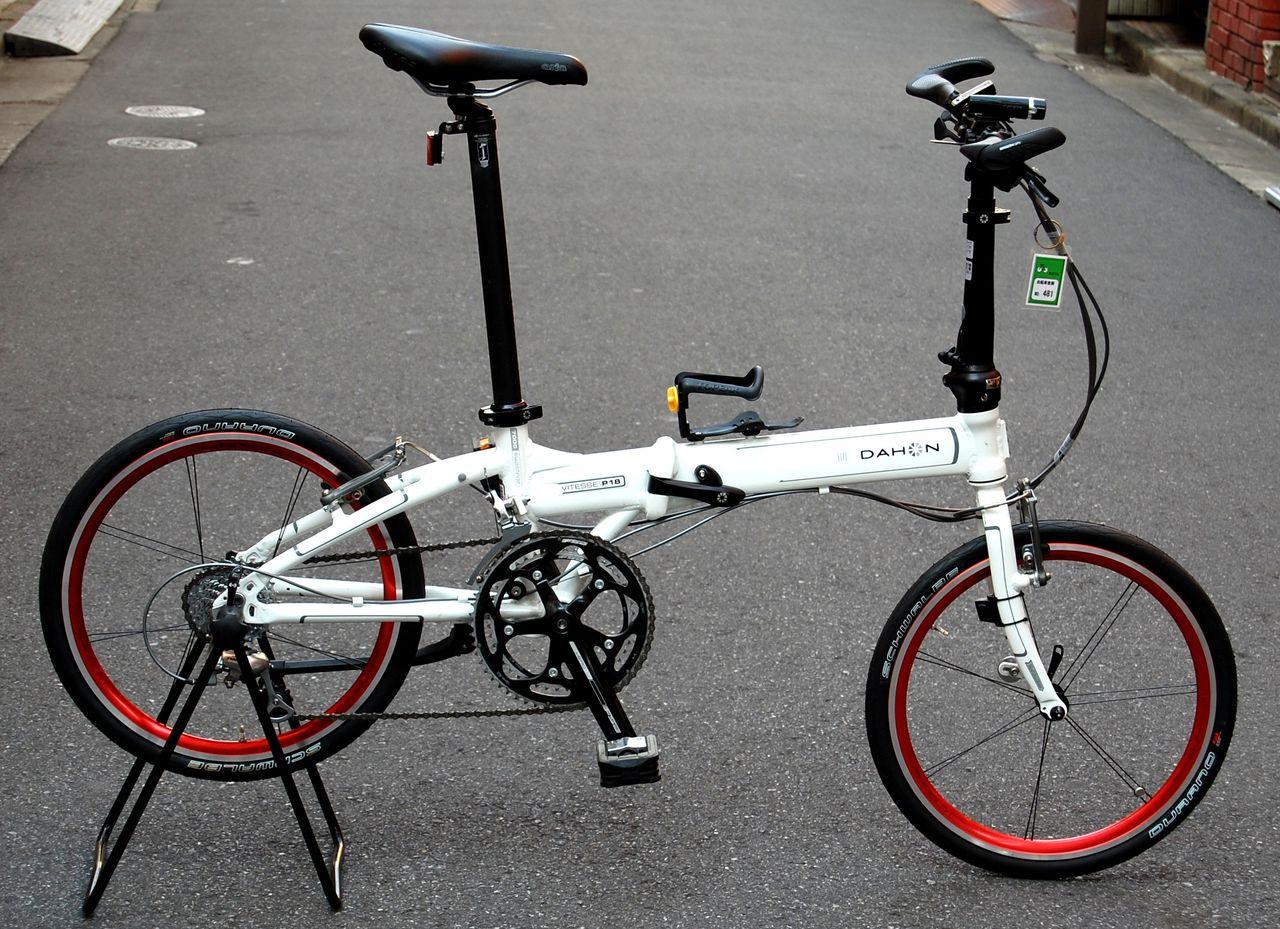 自転車の dahon 自転車 改造 : Dahon Vitesse P18