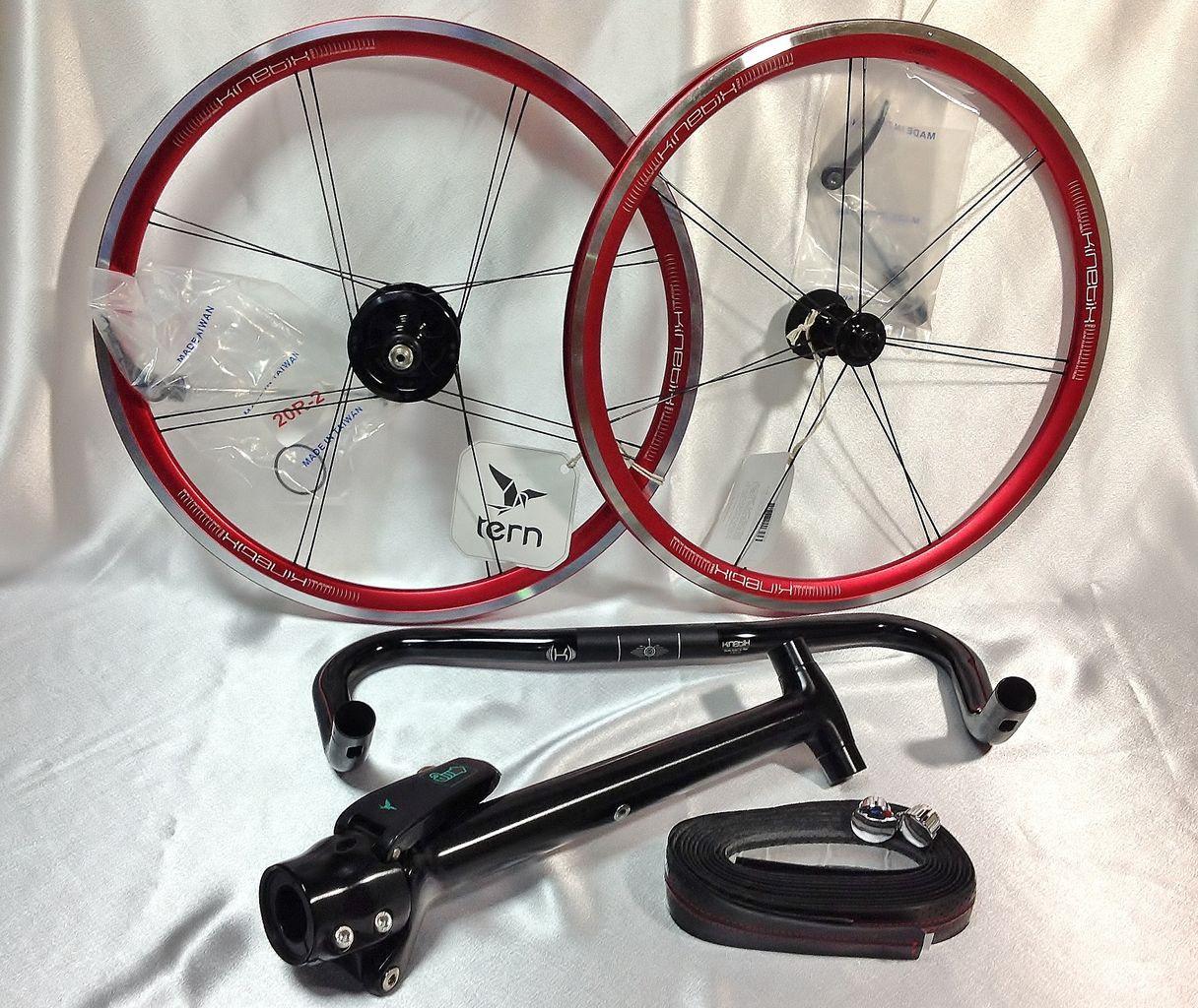 自転車の 自転車 ステム 軽量化 : 橋輪 : 橋輪カスタム tern Verge P9 ...