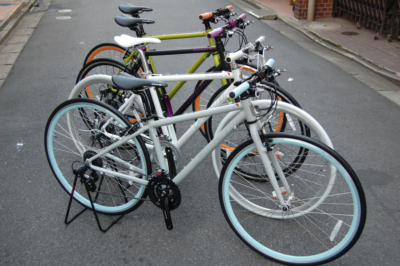 自転車の 自転車 マットカラー : 橋輪 : FUJI 2012モデル入荷 ...