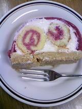 杉山さんのロールケーキ