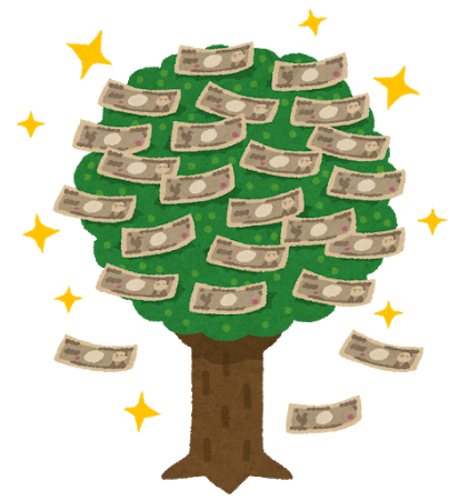money_kanenonaruki