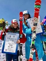 スキー2017国体長谷川、向川表彰式加工後520x520