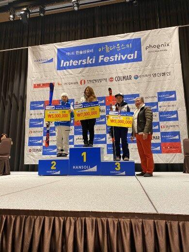 スキー 金子あゆみ2020韓国技術選優勝�(加工後520,520)