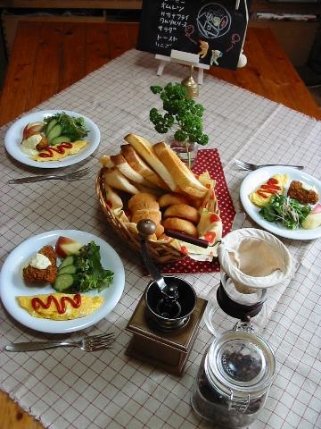 ワンプレート朝ご飯3