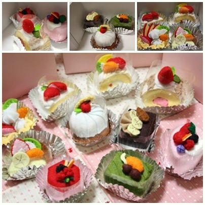 ハンドメイドケーキ2
