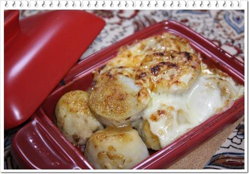 里芋のチーズ田楽