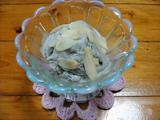 黒胡麻チーズアイス