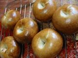 黒豆ベーグル(苺酵母)2