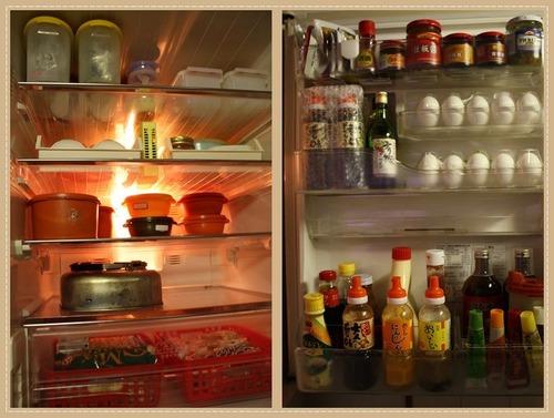 冷蔵庫のお掃除