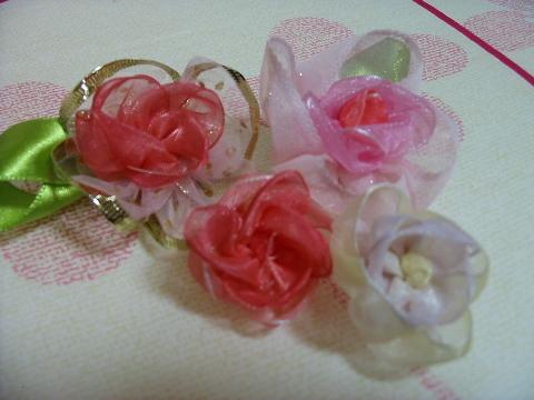 リボンの薔薇