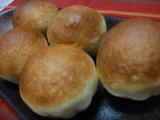 米粉のクリームパン、長女作