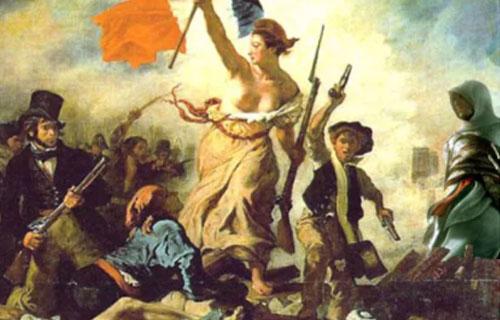 「民衆を導く自由の女神」の画像検索結果