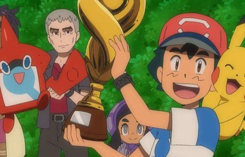 【マジかよ】アニポケのサトシさん、ポケモンリーグ初優勝!!22年かけてついに王者になるwwww