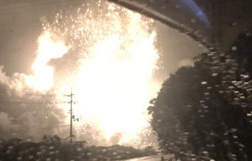 ヤバイ】岡山の工場が爆発か 大...