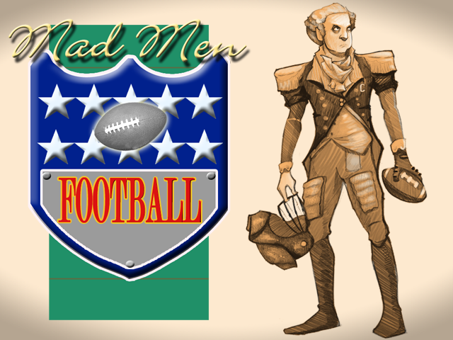 Mad Men Football Wii U press release image