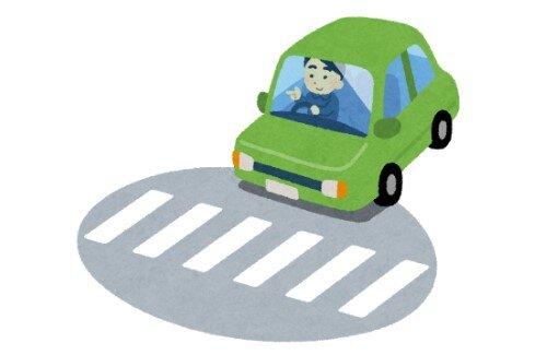 信号機のない横断歩道で歩行者側たろうとしても、一時停止してくれる車が約2割しかなかった… お前ら、なんで止まらないの?